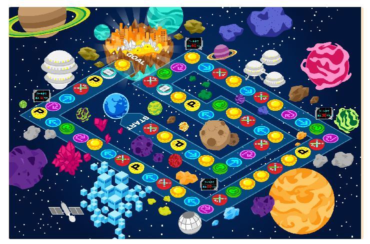 コズミックワールドマップ